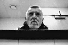 experience new york (omoo) Tags: newyorkcity bw reflection glass strand self bathroom mirror blurry soft toilet bookstore restroom greenwichvillage strandbookstore washinghands bathroommirror bwphotograph dscn7283 broadwayandeast12thstreet experiencenewyork mirrorabovesink