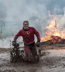 Mr Incredible (Chris Willis 10) Tags: guy fire mr mud cartoon incredible tough