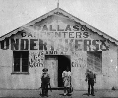 Premises of J.D. Dallas & co., Carpenters & Undertakers, cnr. Robe & Nile Streets, Port Adelaide