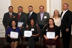 2014 Estrella Awards Honorees with OCHCC board members