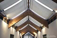 Ceiling (DMeadows) Tags: park lighting wood roof light art history museum scotland wooden display glasgow ceiling historic beam collection fabric shade beams collector pollok burrell davidmeadows dmeadows davidameadows dameadows