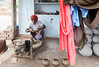 Potter in Rajasthan (Rachel Dunsdon) Tags: india wheel potter pots rajasthan
