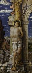 St. Sebastian Andrea Mantegna, 14561459 Panel, 68  30 cm Kunsthistorisches Museum (Matilda Diamant) Tags: vienna old st museum painting austria europe european panel sebastian andrea picture culture master austrian 68 kunsthistorisches mantegna 14561459