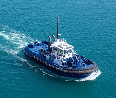Tauranga, New Zealand (Hear and Their) Tags: new robert boat zealand tugboat tug sir tauranga
