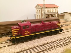 Roco 63436 CFL - 853 (Neil Sutton Photography) Tags: modeltog model modelspoor train railway cfl luxembourg roco esu dcc 853 63436 187 ho scale