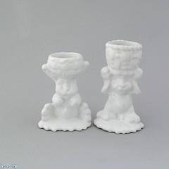 ceramix.co.za-2 Basket Bunny Egg Cups White (ceramix.co.za) Tags: ceramic ceramix easter bunnyeggcups eggcups handmade madeinsouthafrica whiteglazed