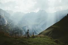 Switzerland (marinaweishaupt) Tags: switzerland sunlight sunrays light mountains schweiz alps mountain travel outdoor landscape landscapes europe hiking throughherlens