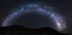 Galactic arch over Badwater (Justin Cameron) Tags: galaxy 24mm milkyway badwaterbasin astrophotography starscape samyang canon5dmkiii 2016 deathvalley samyang24mmf14edasumc california panoramic longexposure canon westcoast roadtrip america hot stars panorama