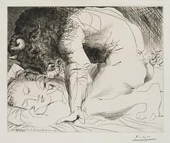 Picasso Minotaure Caressant du Mufle la Main d'une Dormeuse (Maison de l'Alchimiste) Tags: minotaure picasso