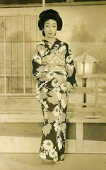 Geisha Girl (Midnight Believer) Tags: japan japanese asia asian geishagirl barefoot portrait retro unknown