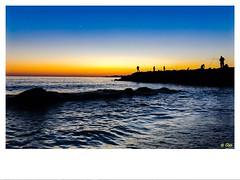 Les pêcheurs de Marseille (mebaz25) Tags: fisherman lune nouvellelune هلال مرسيليا فرنسا سماء شمس ألوان أيفون٧پلاس البحرالأبيضالمتوسط بحر صيادين غروبالشمس plage ciel mer photography iphone7plus colors couleurs pêcheurs france marseille coucherdesoleil sunset