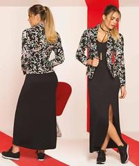 img175 (tiendadelabad) Tags: chaqueta blazer dama mujer femenino negro lino estampado algodon tienda abadesa abad