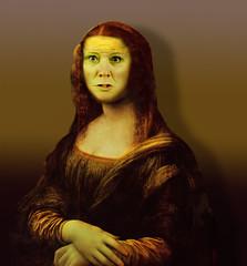 I'm angry (jaci XIII) Tags: monalisa pintura pessoa mulher retrato renascença painting woman person portrait renaissance