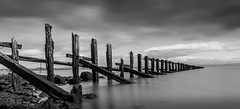 Long Exposure Tide (cgott321) Tags: long exposure black white seascape tide big stopper 10stop filter nd