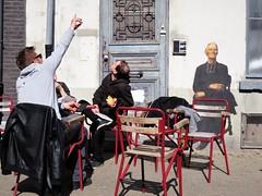 Outings Project / Oostende - 9 apr 2017 (Ferdinand 'Ferre' Feys) Tags: belgium belgique belgië streetart artdelarue graffitiart graffiti graff urbanart urbanarte arteurbano oostende ostend outingsproject pasteup wheatpaste