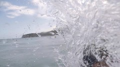 Keep on trying (minimi007) Tags: australia beach bondibeach gopro5 outdoor selfiestick summer sun surf sydney water watersport wave wavebreak woman