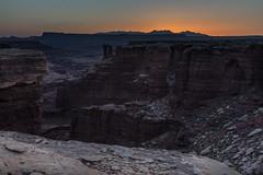 Canyonlands Sunrise (sierra_bum) Tags: flickr canon desert sunrise orange cliffs landscapes sunrises