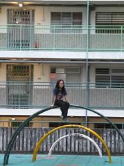 Revisiting Nam Shan Estate 再訪 南山邨 (wilwilwilsonsonson) Tags: hongkong 香港 南山邨 namshanestate publichousing publichousingestate 公屋 公共屋邨 公共房屋 公共屋村 集體回憶 collectivememory neighbourhood 遊樂場 playground