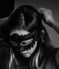 Puy darker (Puykamo@Tнai) Tags: me puy bw mask portrait