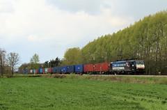 189-200 Chengdu 41312 (Erwin Davids) Tags: 鐵路 荷蘭 lte nederland twente br189 containertrein chengdu tilburg rotterdam cargo goederen 貨車