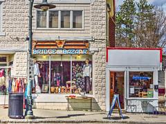 village (albyn.davis) Tags: storefronts buildings massachusetts town village stores deli windows door signage colors colorful