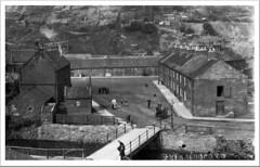 Skinningrove near Middlesborough Yorkshire - dwellings - 1920s . (Lenton Sands) Tags: skinningrove yorkshire village industrial ironstone smelting ironworks watercourse kiltonbeck catchment tees