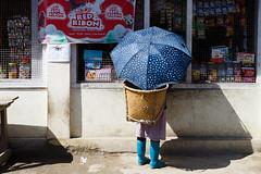 Nice Umbrella (._-Patrick-_.) Tags: india northeast northeastindia umbrella women arunachalpradesh arunachal pradesh apatani zirovalley ziro canon 5diii 2470 travel reise shadow