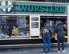 Wursterei (neil.bulman) Tags: berlin germany food sausage wursterei stall easter wurst