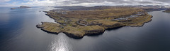Nólsoy, Hvítanes og Tórshavn - panorama (Reidar F. Joensen) Tags: nólsoy tórshavn hvítanes føroyar færøerne faroeisland panorama dji phantom4 djiphantom4 above sun sea ocean house ncc eysturoyartunnulin áhjalla nd8 polarpro natonalgeographic ngc