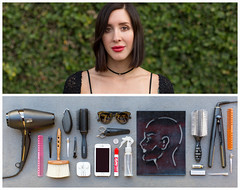 Marion Diptych (J Trav) Tags: persona diptych whatsinyourbag theitemswecarry showusthecontentsofyourbag portrait travel stylist instructor sassoon academy