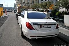 Mercedes-Maybach S600 - Qatar (Helvetics_VS) Tags: licenseplate qatar maybach