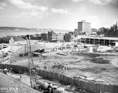Scotia Square construction (Halifax Municipal Archives) Tags: halifax novascotia canada archives city history architecture urbanrenewal urbandevelopment construction