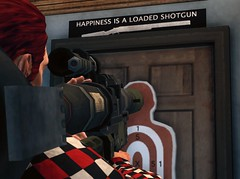 How about no! (-VacuumoV-) Tags: game pc saints row third shotgun rpg target happiness