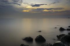 Mystic Ocean (guppii) Tags: sea ocean sky sony sonyalpha nex5t longexposure longexpo haida nd64x gnd09
