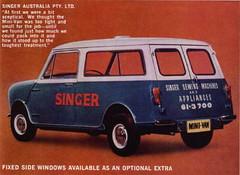 Australian Mini Van (late 1960s)