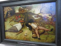 Musée de la Alte Pinakothek (archipicture71) Tags: peinture musée munich pinakothek bruegel pays cocagne