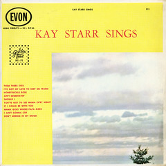 Kay Starr Sings (Jim Ed Blanchard) Tags: lp album record vintage cover sleeve jacket vinyl weird funny strange kooky ugly thrift store novelty kitsch awkward kay starr sings dull boring clouds