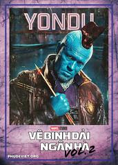 GOTG 2 - YONDU (nam fullbuster) Tags: guardians galaxy vol 2 poster characters việt hóa nam lê yondu rocket nebula mantis gamora ego drax baby groot ayesha