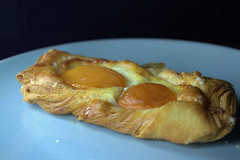 Apricot Puff Pastry (Tony Worrall) Tags: add tag ©2016tonyworrall images photos photograff things uk england food foodie grub eat eaten taste tasty cook cooked iatethis foodporn foodpictures picturesoffood dish dishes menu plate plated made ingrediants nice flavour foodophile x yummy make tasted meal apricot puff pastry comfort fruit