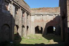 Central Hall of Slains Castle (steve_whitmarsh) Tags: crudenbay aberdeenshire scotland building ruins abandoned wall