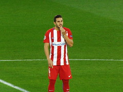 Koke (lcfcian1) Tags: leicester city atletico madrid lcfc atleti uefa champions league football sport uk england kingpowerstadium king power stadium leicestercity atleticomadrid leicestercitystadium uefachampionsleague championsleague footballmatch koke 11 18417 quarter final
