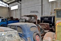 collezione righini (riccardo nassisi) Tags: car camion truck rust rusty relitto rottame ruggine ruins scrap scrapyard collezione righini lancia fiat bianchi abbandonata abandoned abbandonato