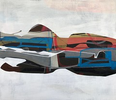 Jim Harris: Essex Class (Jim Harris: Artist.) Tags: schilderji painting cosmos space essex geometric peinture technology technik kunst zeitgenössische
