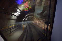 First TTC Subway Train Northbound to Downsview Park Station (Toronto-York Spadina Subway Extension - TTC) Tags: subway ttc toronto transit commission rocket tysse