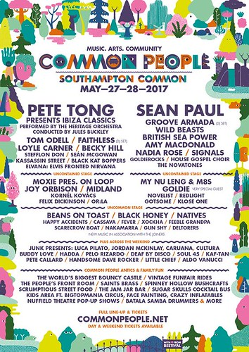 common people southampton 2017