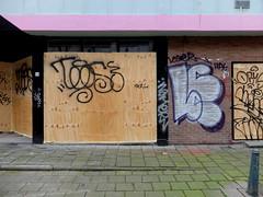Graffiti (oerendhard1) Tags: graffiti vandalism illegal streetart urban art rotterdam leger hpk