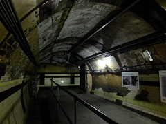 Corridors of Down Street (failing_angel) Tags: 100816 london cityoflondon mayfair hiddenlondon undergroundstation ghoststation downstreet railwayexecutivecommittee warcabinet cabinetwarrooms