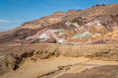 Artist's Palette from Artist Drive, Death Valley, California, USA (www.clineriverphotography.com) Tags: california usa artistspalette location deathvalleynationalpark artistdrive 2016