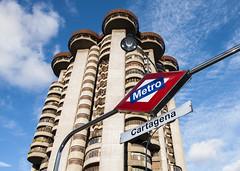 Madrid Metro-Cartagena (George Baritakis) Tags: metro transportation city urban people life spain train travel travelling