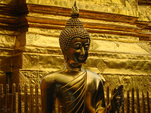 Buddha, Chiang Mai, Thaïlande